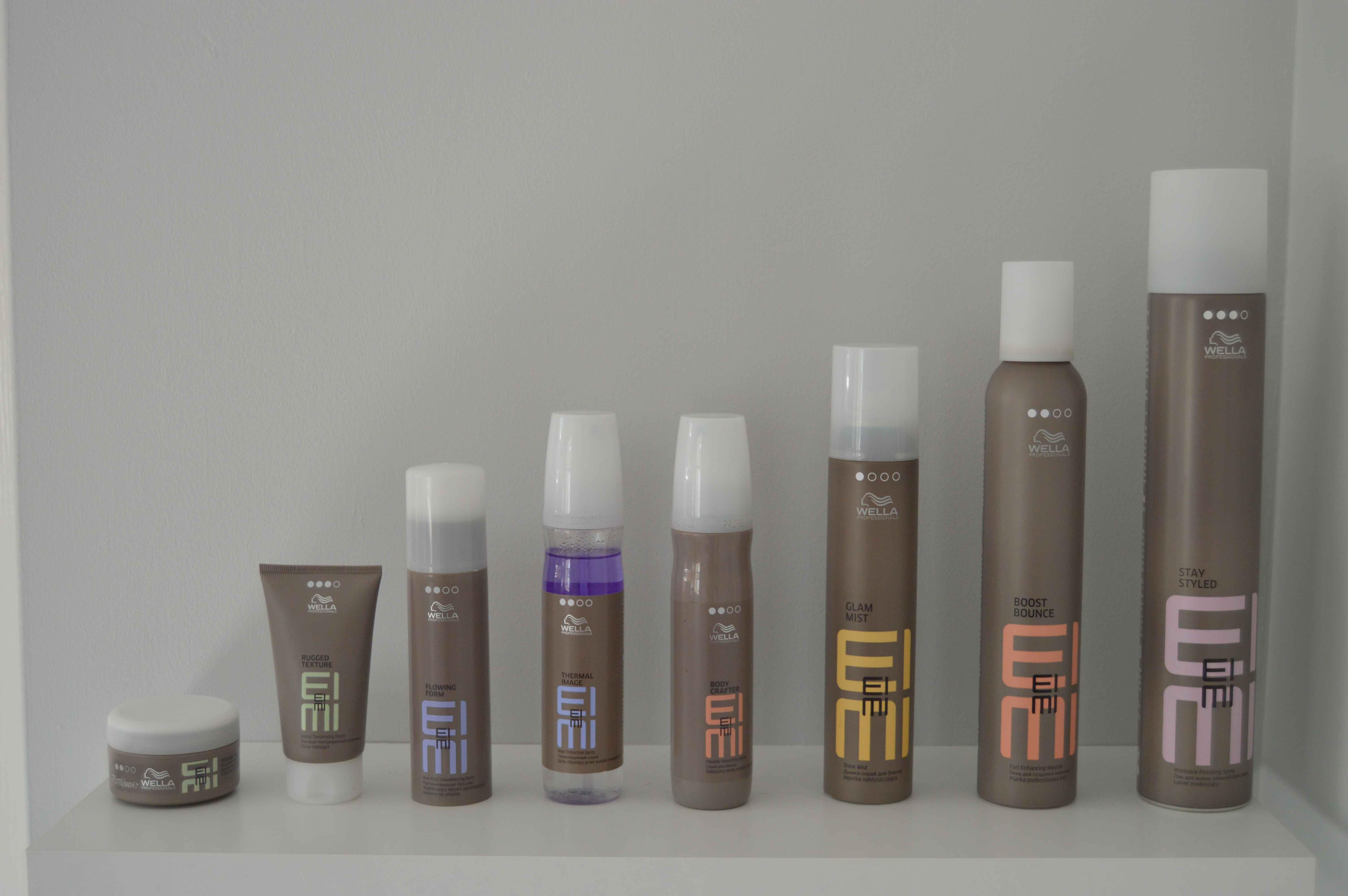 Wella product range